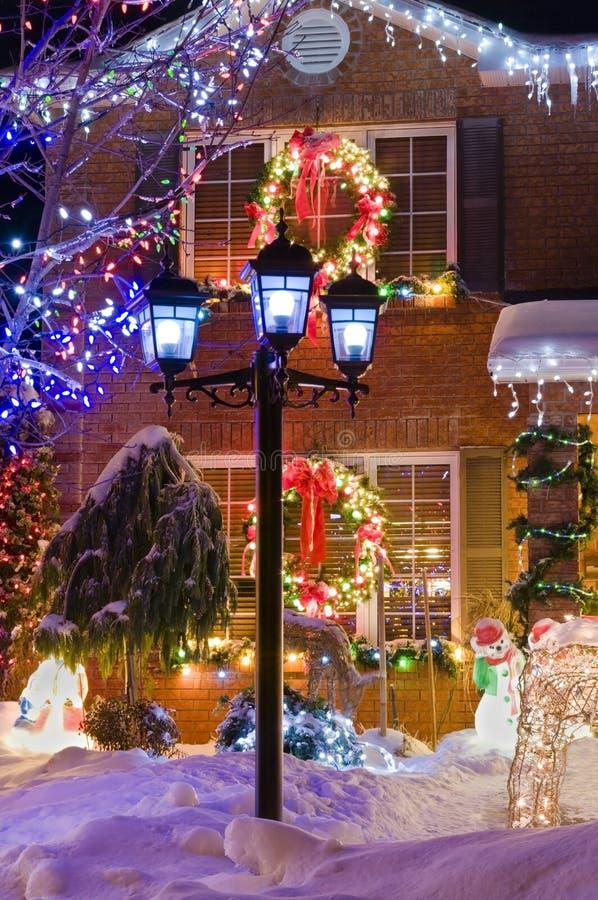 La Navidad urbana fotografía de archivo libre de regalías