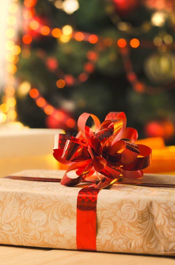 La Navidad y días de fiesta presentes imagen de archivo