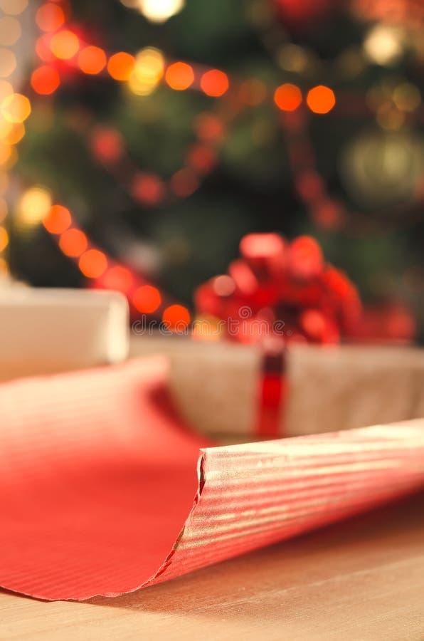 La Navidad y días de fiesta presentes fotos de archivo libres de regalías