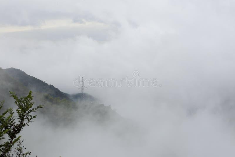 La nebbia fotografia stock libera da diritti