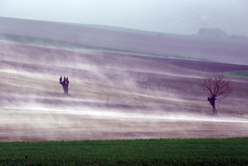 La nebbia sta aumentando immagini stock libere da diritti