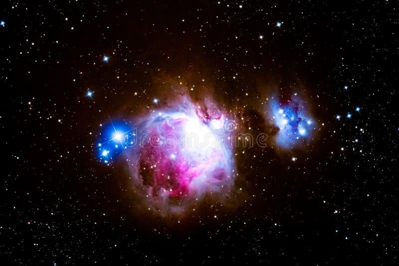 La nebulosa fotos de archivo
