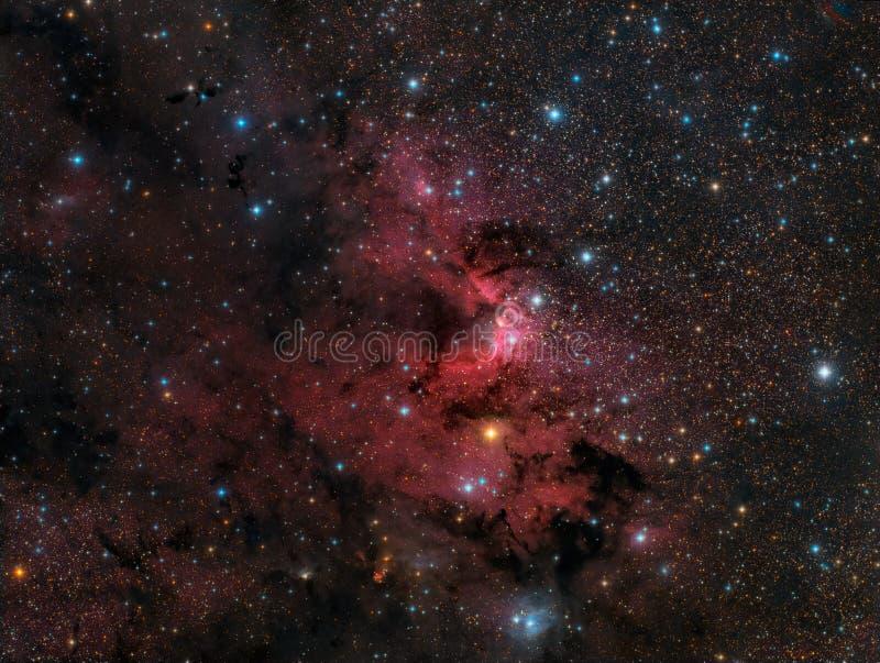 La nebulosa della caverna fotografie stock libere da diritti