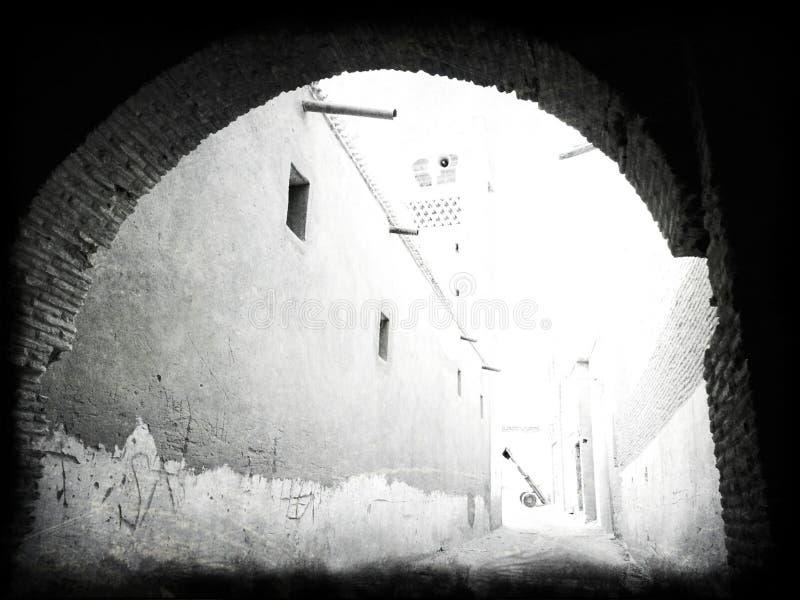 La Nefta-Tunisia fotografia stock