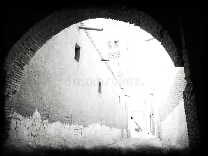 La Nefta-Tunisie photo stock