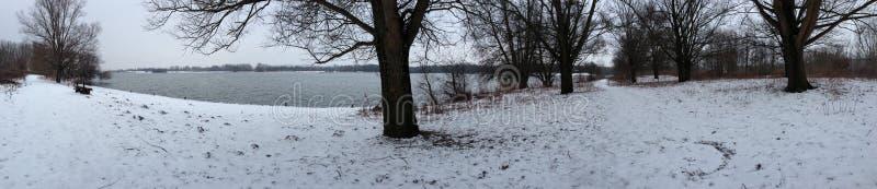 La neige eijsderbeemden image libre de droits