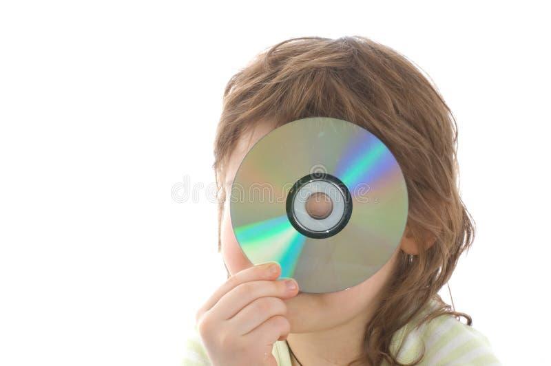 La niña se divierte foto de archivo