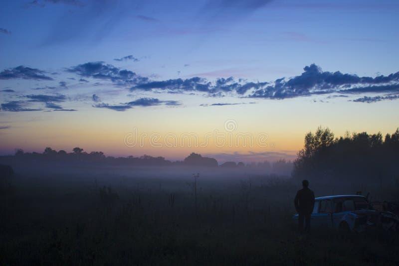 La niebla imagen de archivo libre de regalías