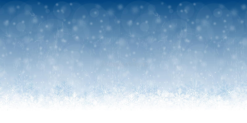 La nieve inconsútil forma escamas fondo libre illustration