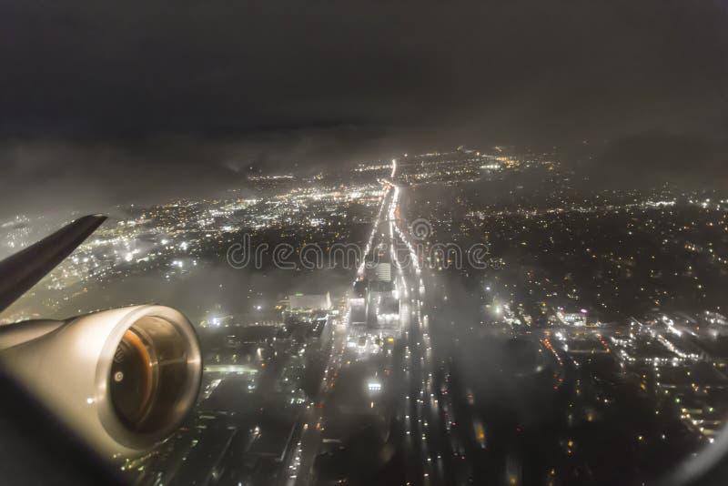 La noche tempestuosa saca foto de archivo libre de regalías