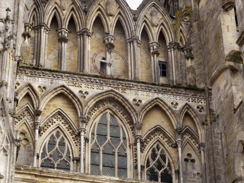 La Normandie pittoresque - voit la cathédrale images stock