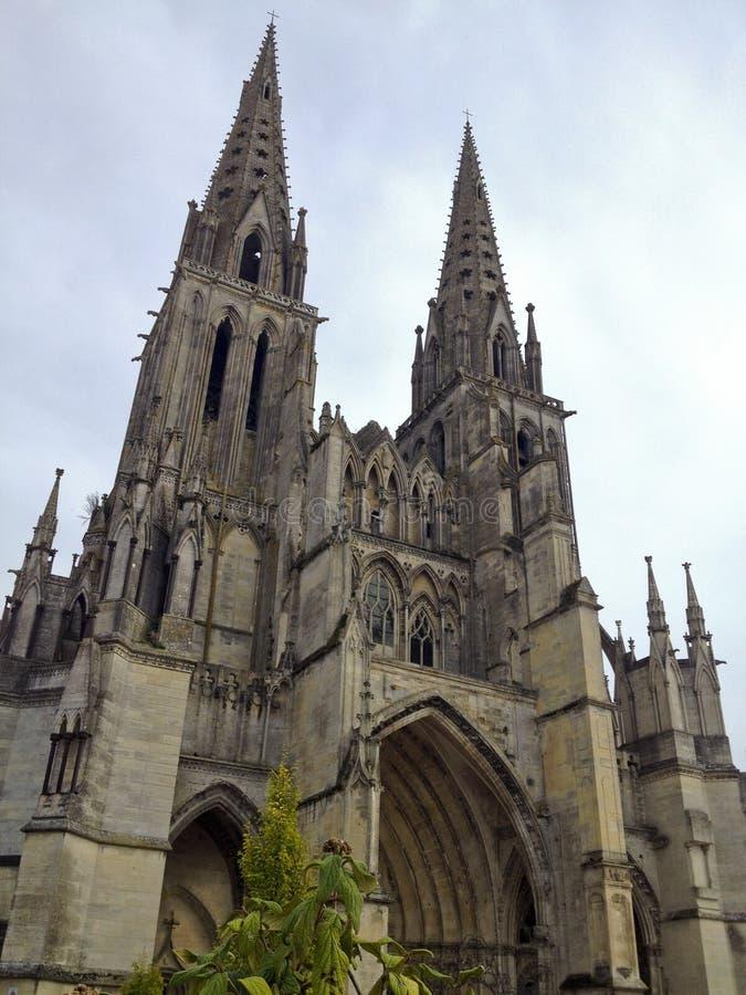 La Normandie pittoresque - voit la cathédrale photos stock
