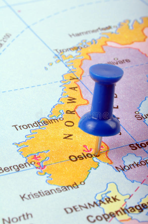 La Norvegia fotografie stock