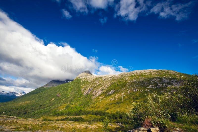 La Norvegia rurale immagini stock