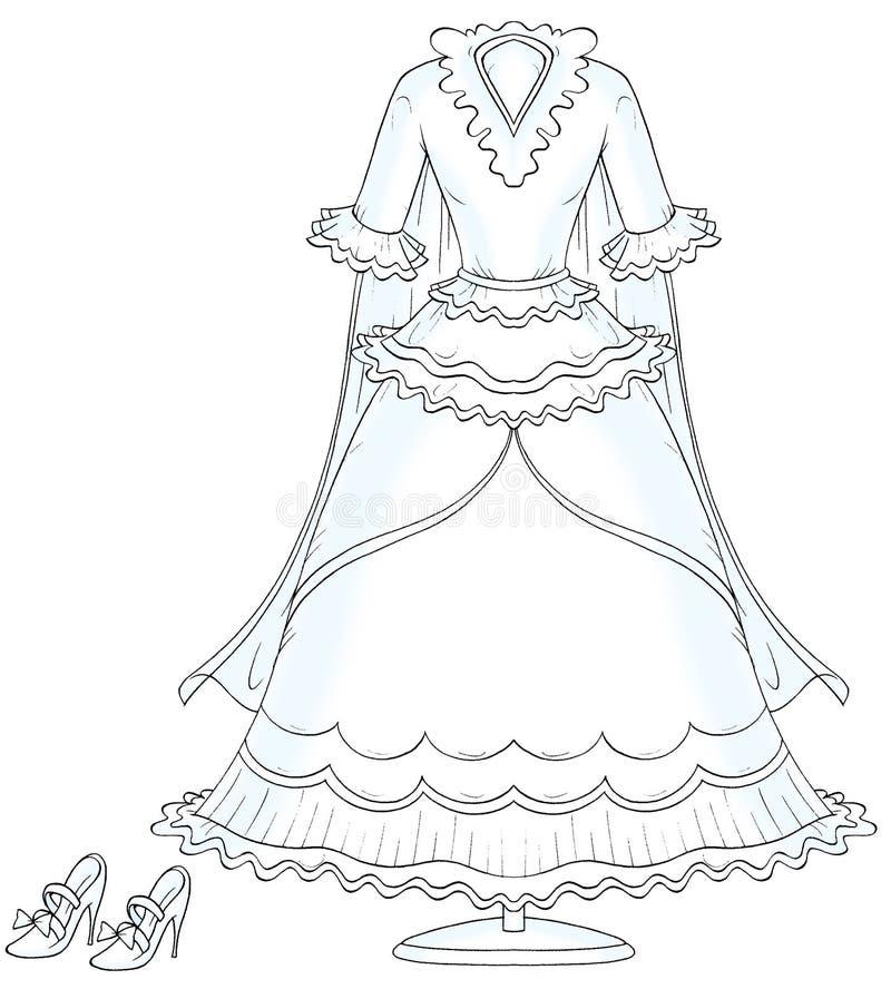 La nostra cerimonia nuziale 009 royalty illustrazione gratis
