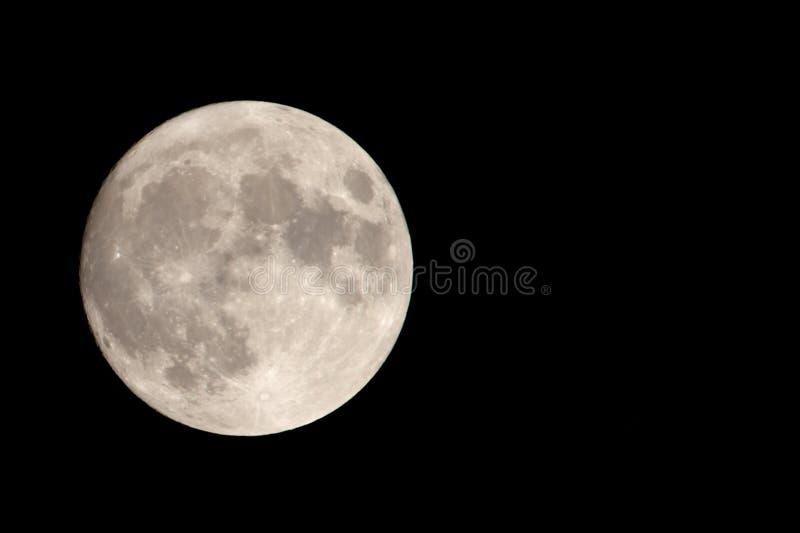 Download La Nostra Luna Con Spazio Negativo Fotografia Stock - Immagine di nero, cielo: 205234