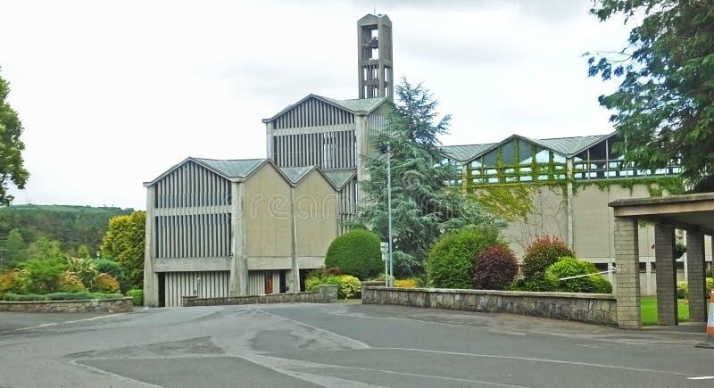 La nostra signora di Betlemme Abbey Cistercian Monastery Portglenone Co Antrim Irlanda del Nord fotografia stock libera da diritti