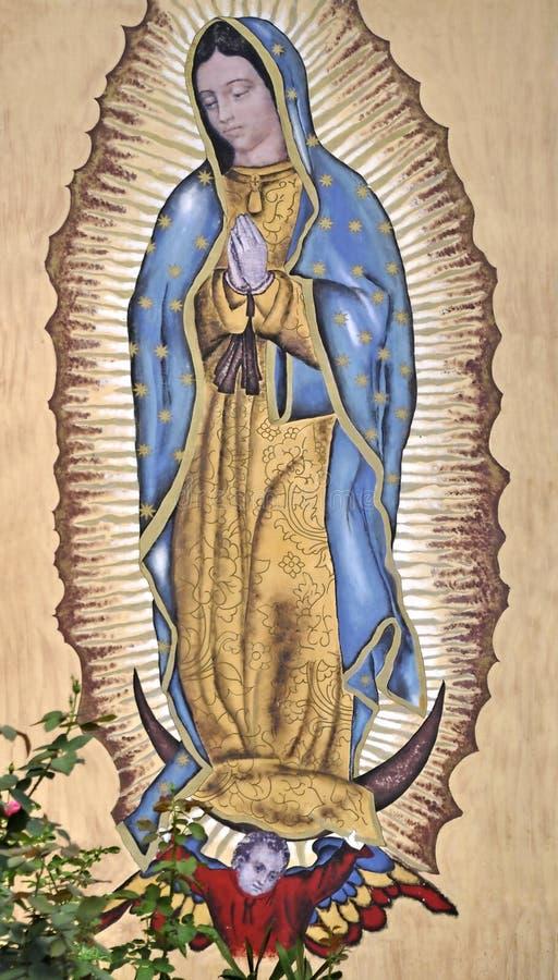 La nostra signora di Guadalupe fotografia stock