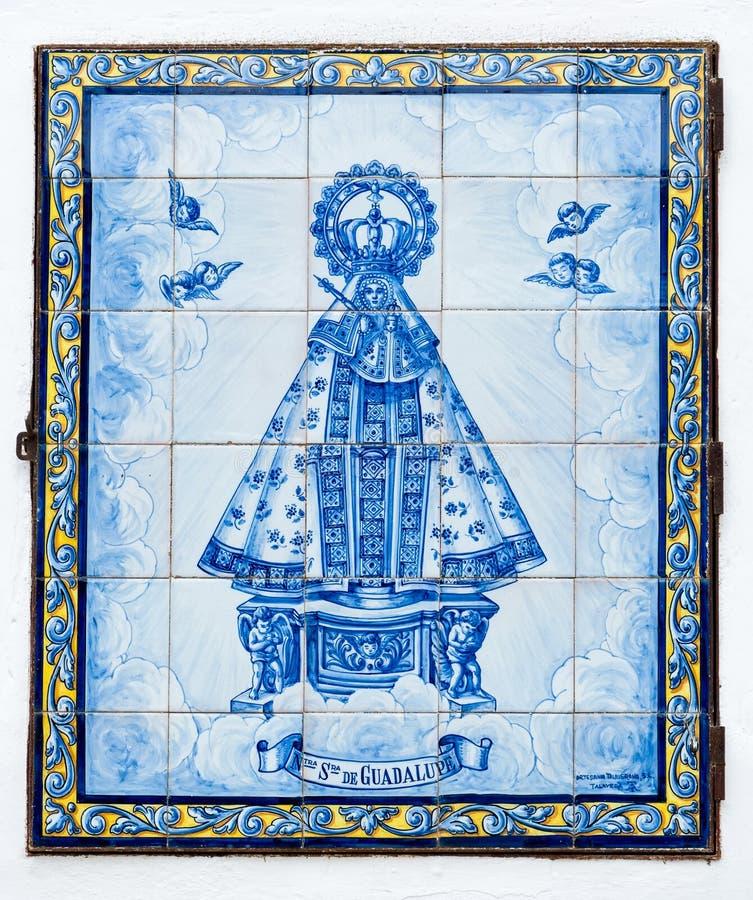 La nostra signora di Guadalupe immagine stock libera da diritti