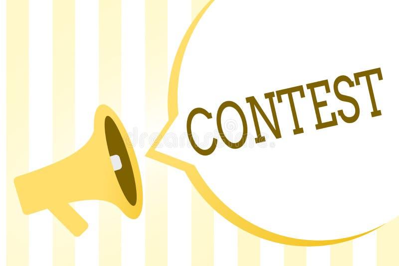 La nota di scrittura che mostra la foto di affari di concorso che montra la concorrenza migliora che l'altra rappresentazione per royalty illustrazione gratis