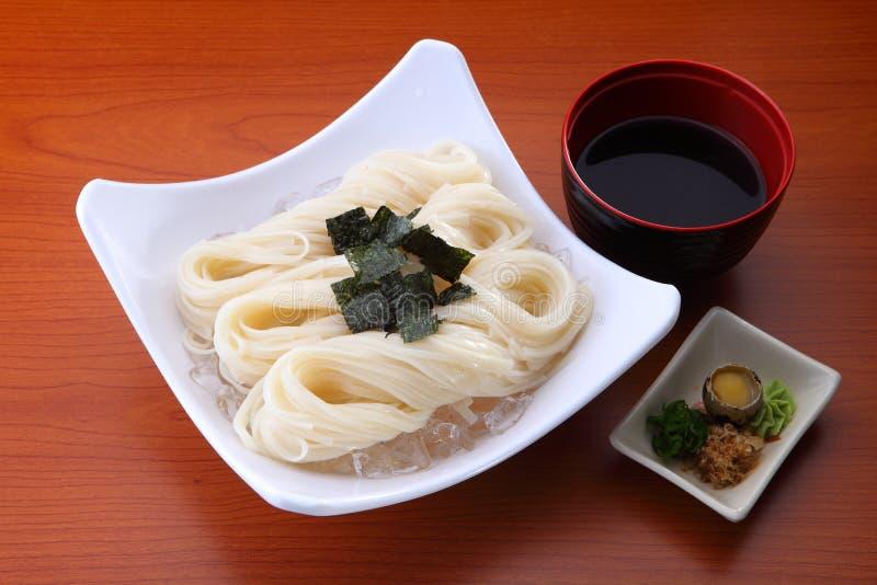 La nourriture asiatique est sinistre images stock