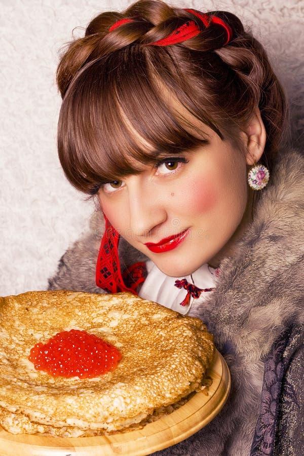 La nourriture de Traditioal Shrove dedans mardi images stock