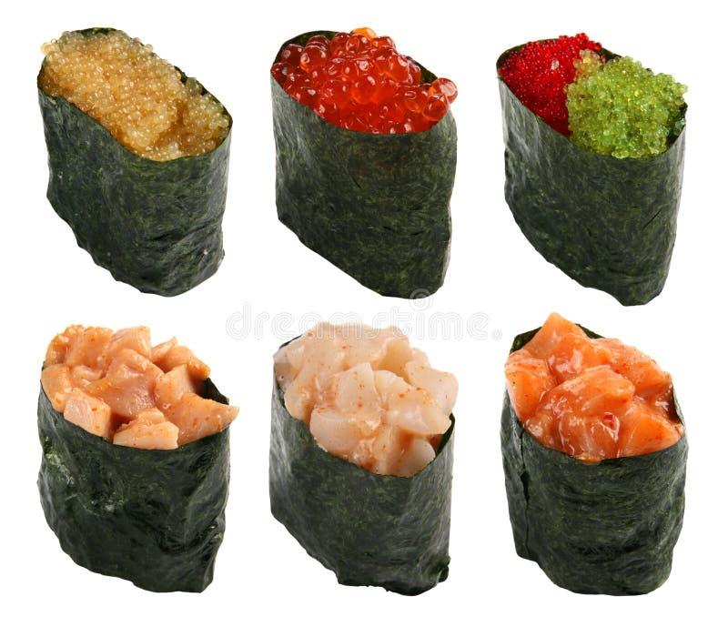 La nourriture du Japon a placé 1 photo stock