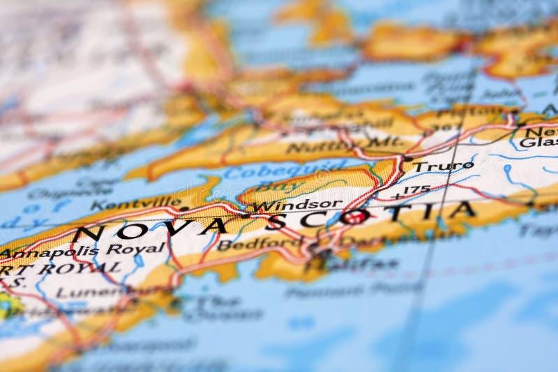 La Nouvelle-Écosse photographie stock