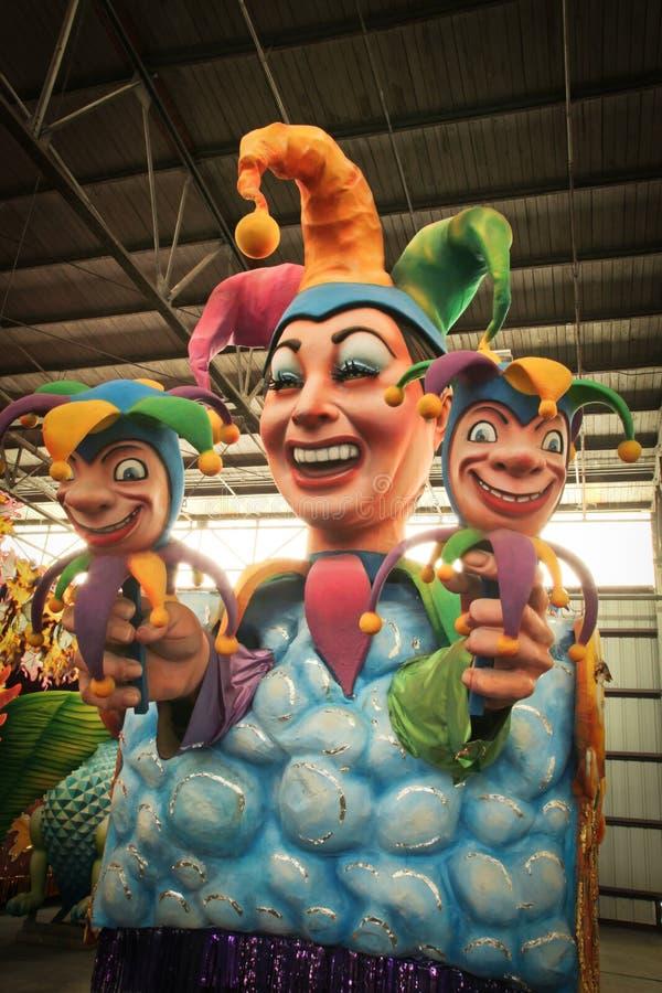 La Nouvelle-Orléans - flotteur de mardi gras photos libres de droits