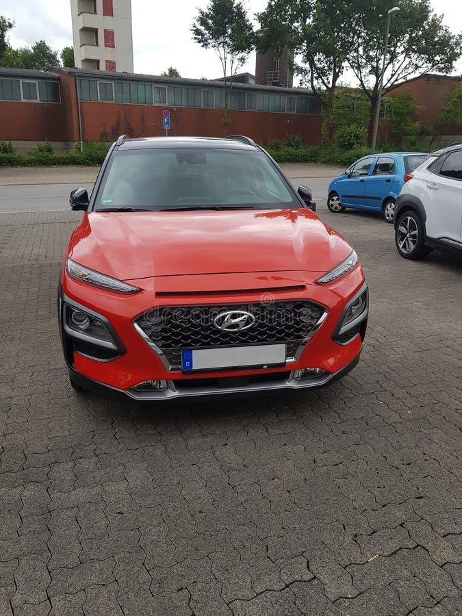 La nouvelle prime de SUV Hyundai Kona image stock