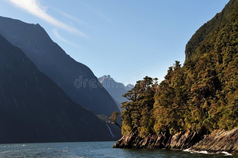 La Nouvelle Zélande Fiordland photos stock