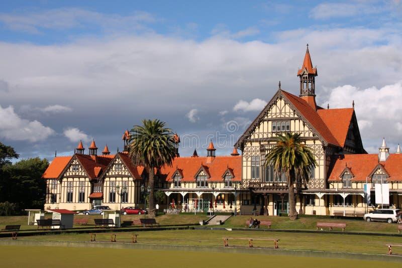 La Nouvelle Zélande - le Rotorua image libre de droits