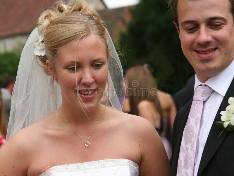 La novia y el novio 5 fotos de archivo libres de regalías