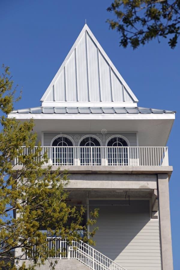 La nueva torre en Hammond Stadium fotos de archivo libres de regalías