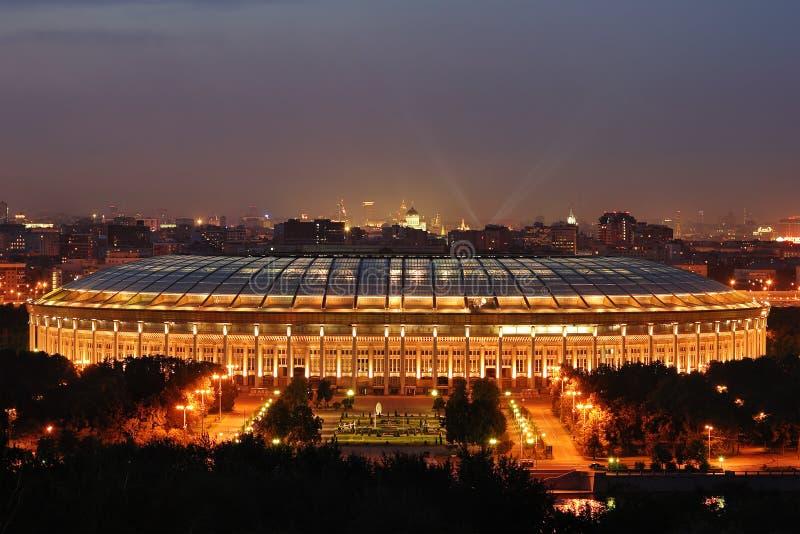 La nuit de Moscou photos stock
