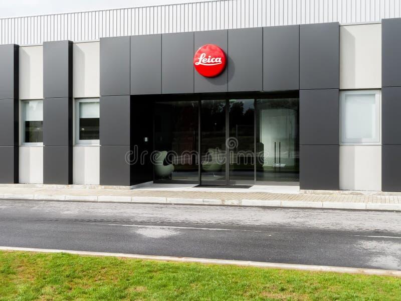 La nuova fabbrica di Leica in Vila Nova de Famalicao, Portogallo fotografia stock