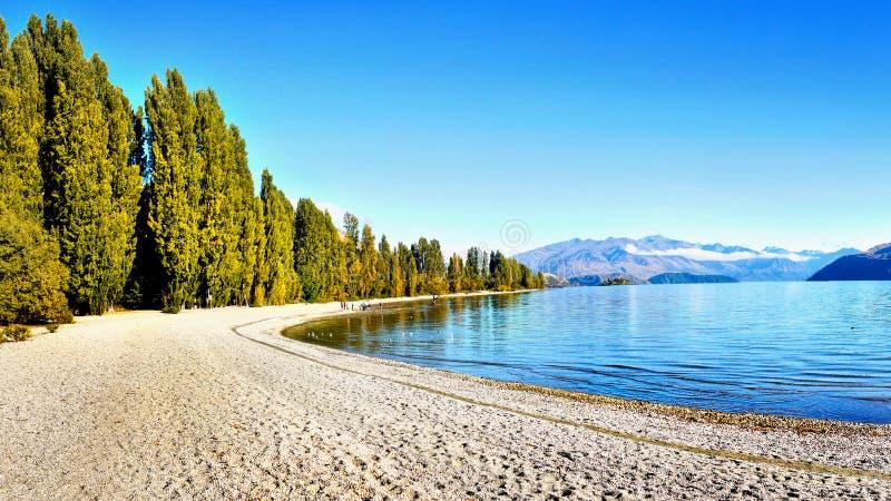 La Nuova Zelanda, Mt Parco nazionale d'aspirazione, lago fotografie stock