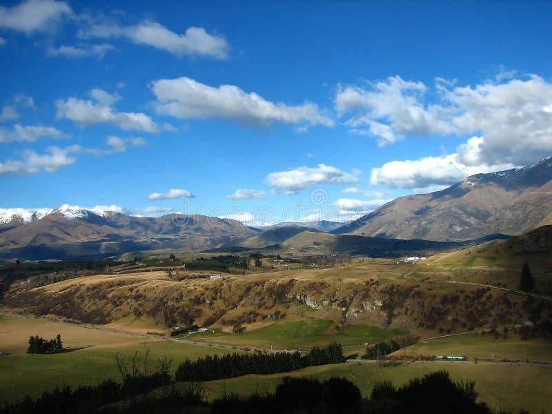 La Nuova Zelanda Otago immagine stock