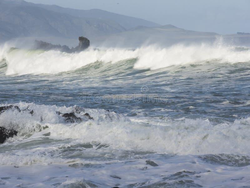 La Nuova Zelanda, tempesta pesante immagini stock libere da diritti