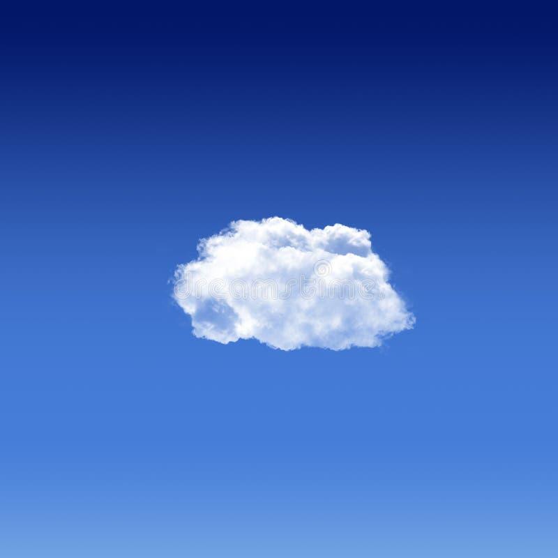 La nuvola è nell'aria immagini stock libere da diritti