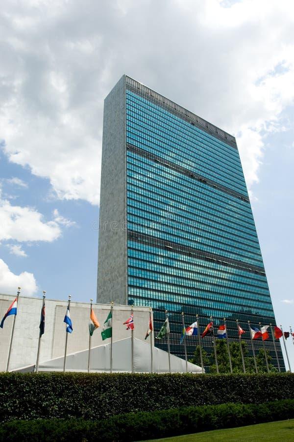La O.N.U en la sesión imagen de archivo