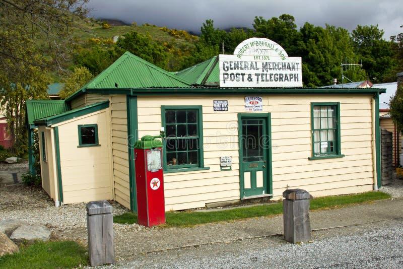 La oficina de correos de Cardrona imagen de archivo