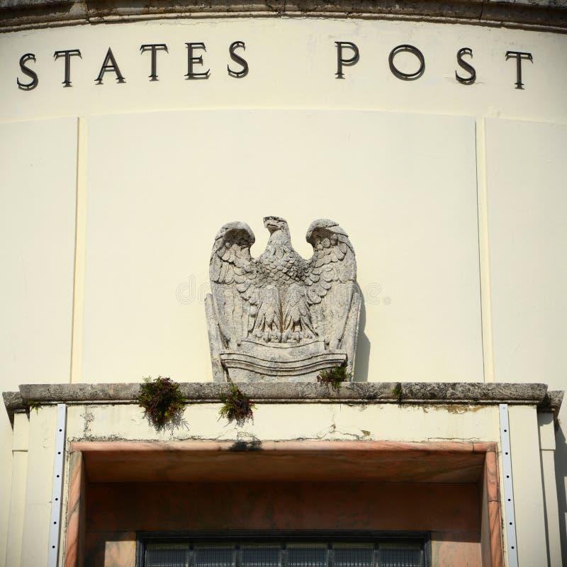 La oficina de correos de Miami Beach (33119) fotografía de archivo libre de regalías