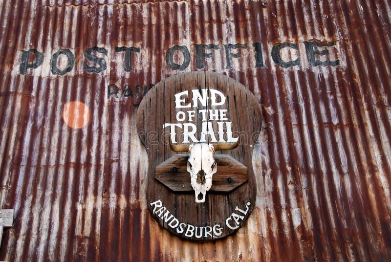 La oficina de correos en Randsburg, California foto de archivo libre de regalías