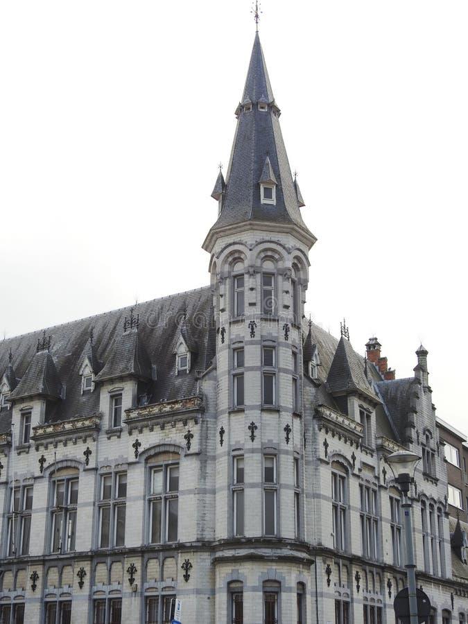 La oficina de correos - Lokeren - Bélgica imagenes de archivo