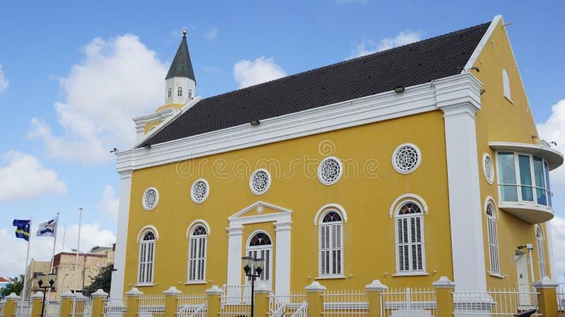 La oficina de fiscal en Willemstad, Curaçao fotos de archivo