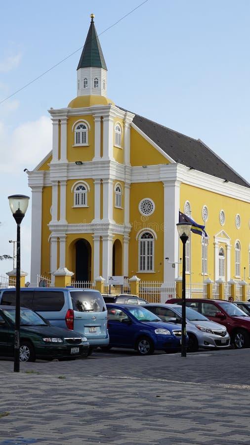La oficina de fiscal en Willemstad, Curaçao imagen de archivo libre de regalías