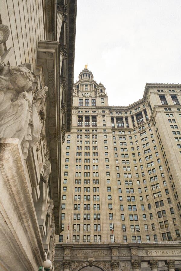 La oficina Nueva York del presidente de ciudad de Manhattan foto de archivo libre de regalías