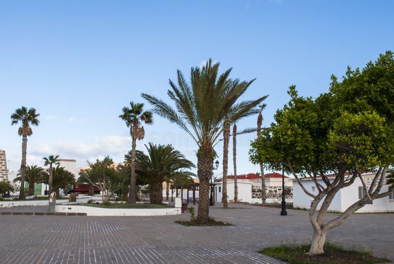 La Oliva, Fuerteventura, Ilhas Canárias, Espanha fotografia de stock