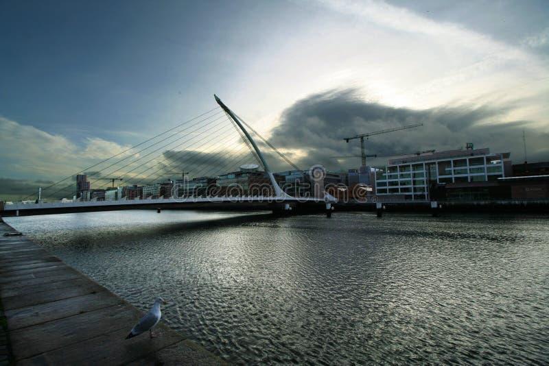 La opinión de Dublín imagenes de archivo